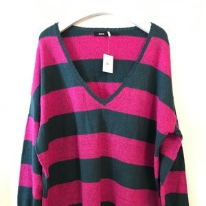 Urban Outfitters Sweater BDG Striped Size M/L NWT